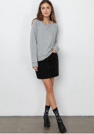 Rails Callahan Sweater - Grey Melange
