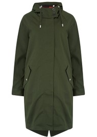 PARKA LONDON Ewe Water Resistant Parka - Hilltop Green