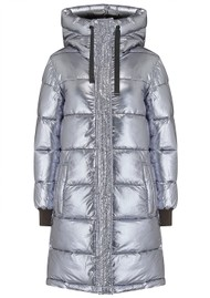 DUALIST Jane Reversible Parka Coat - Khaki & Gunmetal