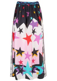 ME369 Hailey Star Print Skirt - Multi