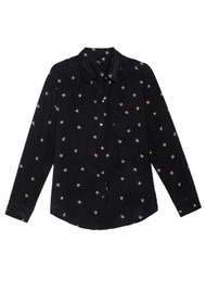 Rails Kate Silk Shirt - Animal Stars