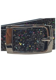 NOOKI Hacienda Glitter Belt - Black