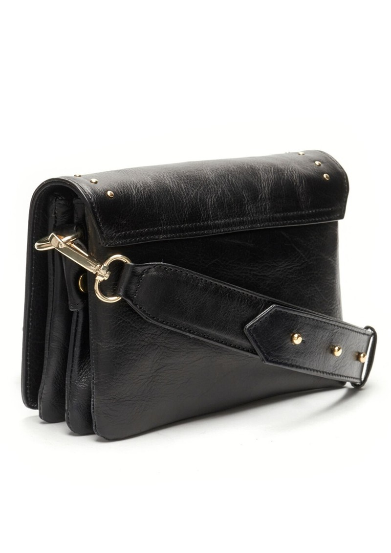 FABIENNE CHAPOT Felice Small Leather Bag - Black main image