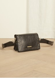 FABIENNE CHAPOT Felice Small Leather Bag - Black