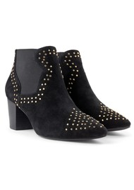 SHOE THE BEAR Toro Suede Boots - Black