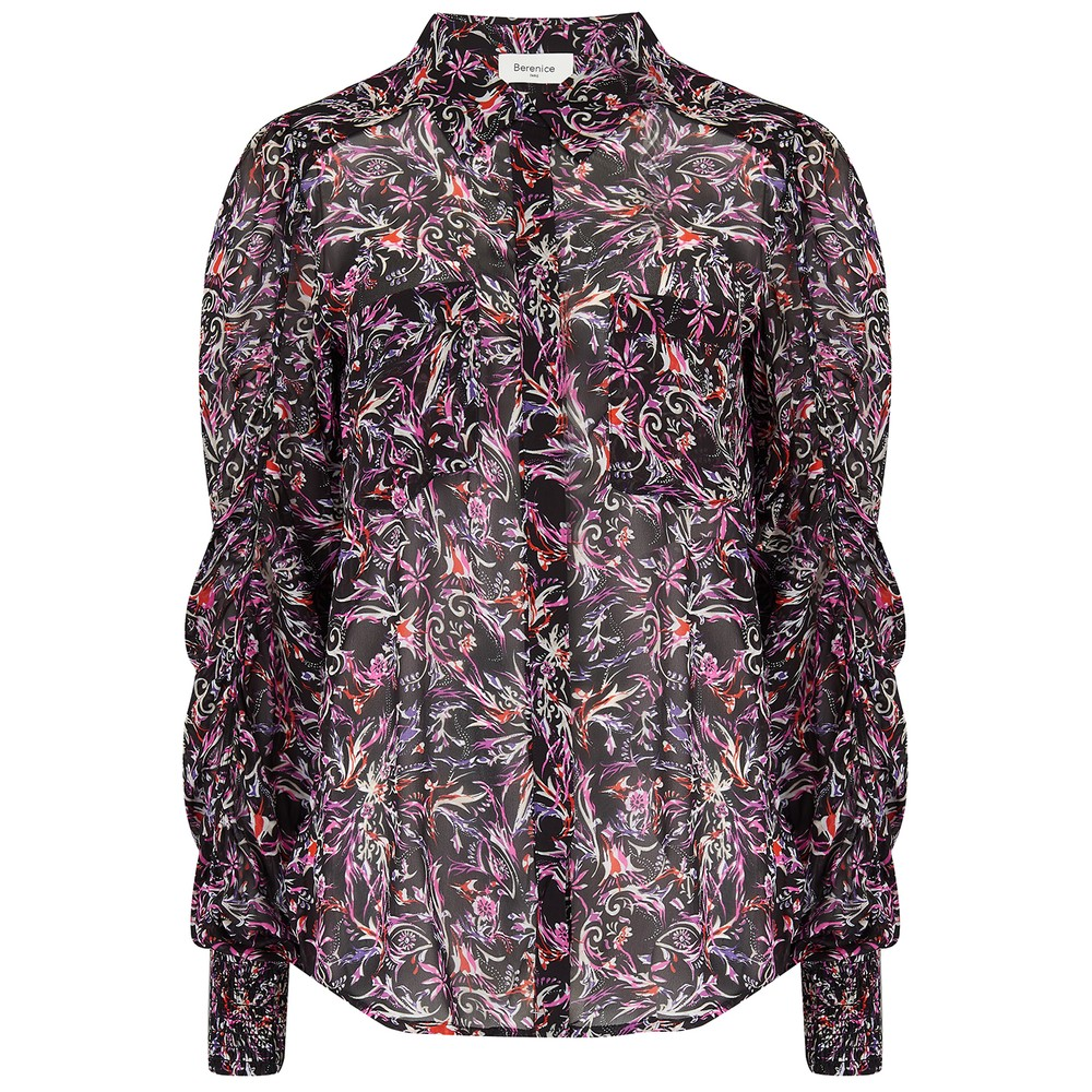 Candy Printed Shirt - Black Palace