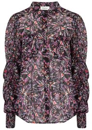 BERENICE Candy Printed Shirt - Black Palace