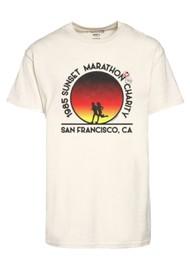 NEWTONE San Fransisco Marathon Trucker T-Shirt - Natural