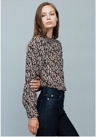 MAYLA Colette Blouse - Flower Print