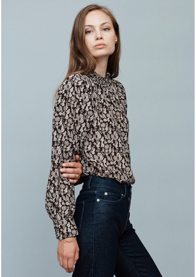 MAYLA Colette Blouse - Flower Print main image