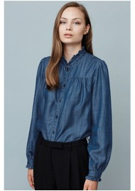 MAYLA Juniper Top - Denim