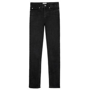 Tilda High Waisted Slim Leg Jeans - Black