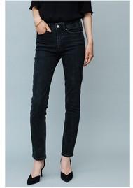 MAYLA Tilda High Waisted Slim Leg Jeans - Black