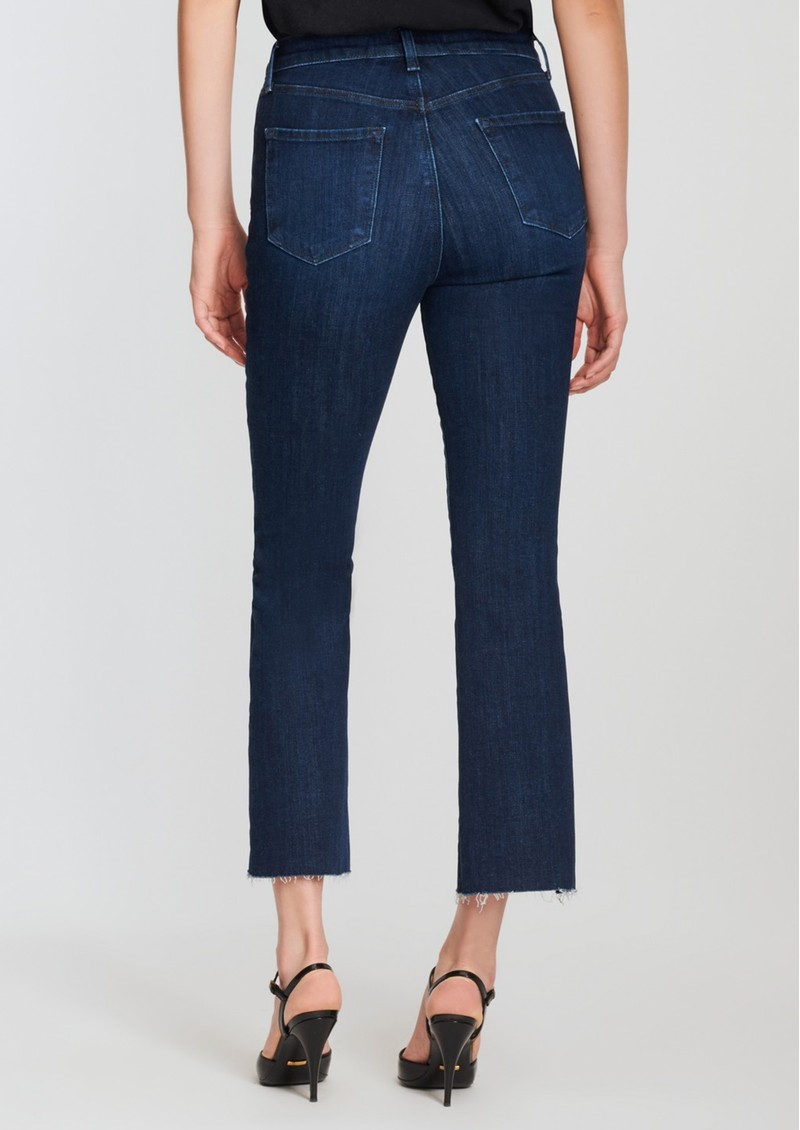 Lillie High Rise Cropped Flared Jeans - Impulse main image