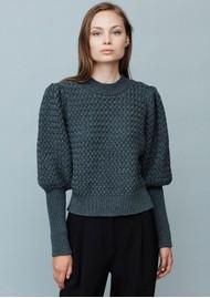 MAYLA Flora Knitted Jumper - Granite