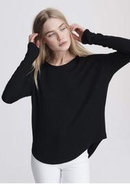 RAG & BONE The Knit Long Sleeve T-Shirt - Black