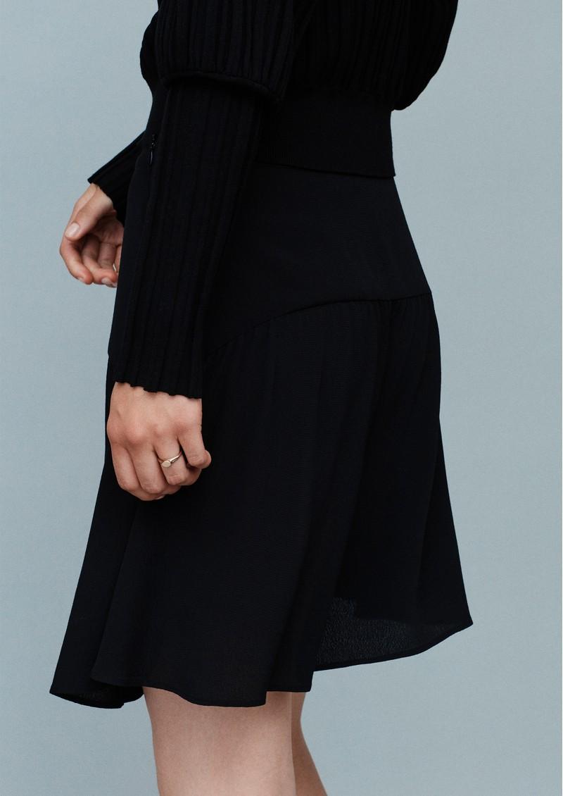 MAYLA Moss Mini Skirt - Black main image