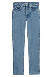 MAYLA Hedvig High Waisted Tapered 'Mom' Jeans - Blue