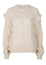 DANTE 6 Hiver Knitted Jumper - Powder Puff