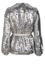 DANTE 6 Quandy Sequin Jacket - Silverlight