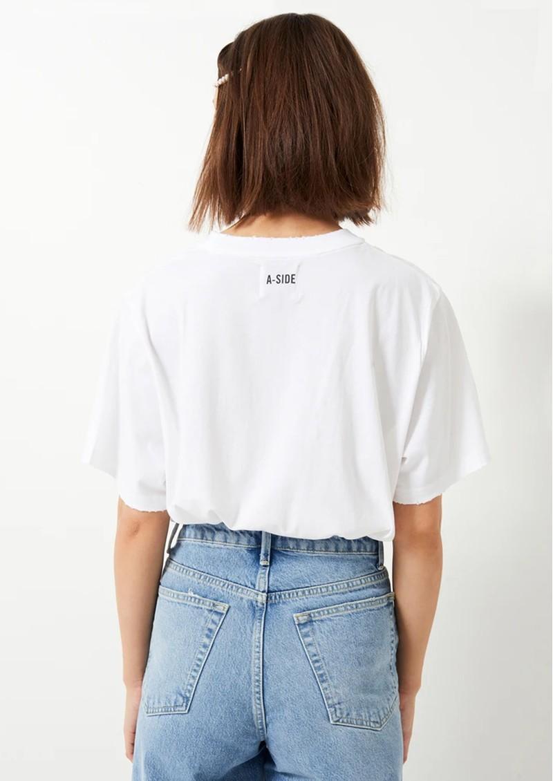 HAYLEY MENZIES Drifters T-Shirt - White main image