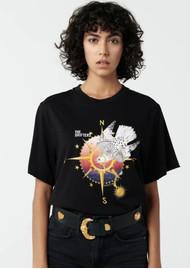 HAYLEY MENZIES Drifters T-Shirt - Black