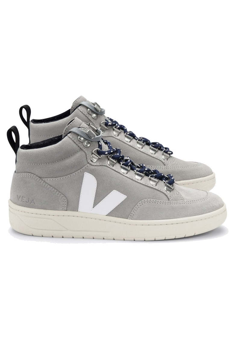 VEJA Roraima Suede Trainers - Oxford Grey & White main image