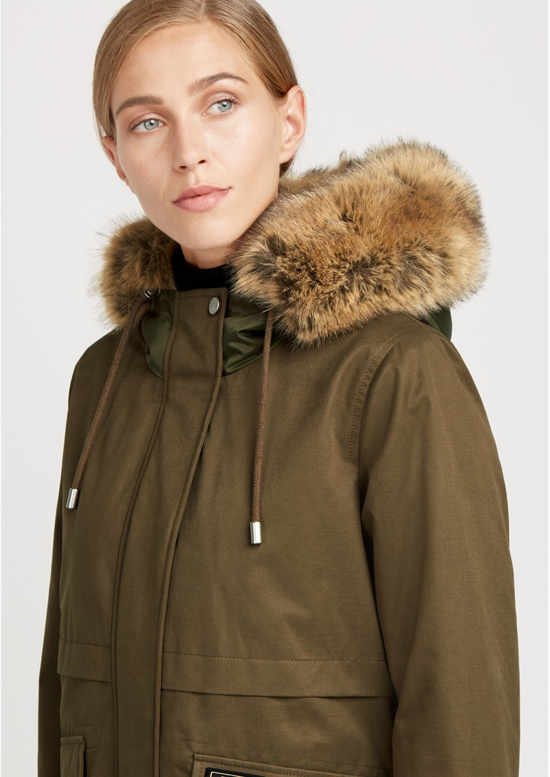 PARKA LONDON Wanderer Short Parka - Khaki main image