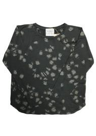 JUMPER 1234 Leopard Print Cotton Tee - Charcoal