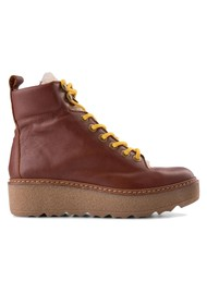 SHOE THE BEAR Bex Leather Boot - Brown