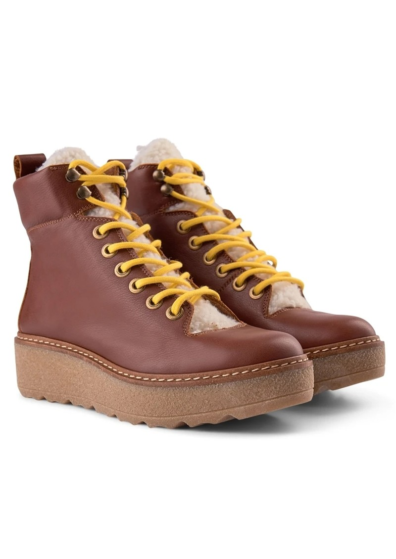SHOE THE BEAR Bex Leather Boot - Brown main image