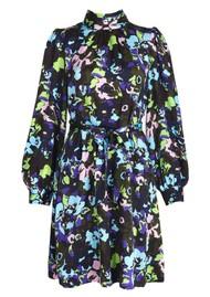ESSENTIEL ANTWERP Wengling Silk Dress - Polo Green