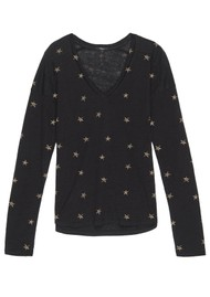 Rails Sami Tee - Black Animal Star