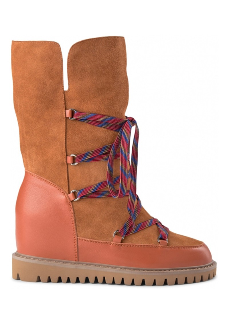 SHOE THE BEAR Fara Snow Boots - Tan main image