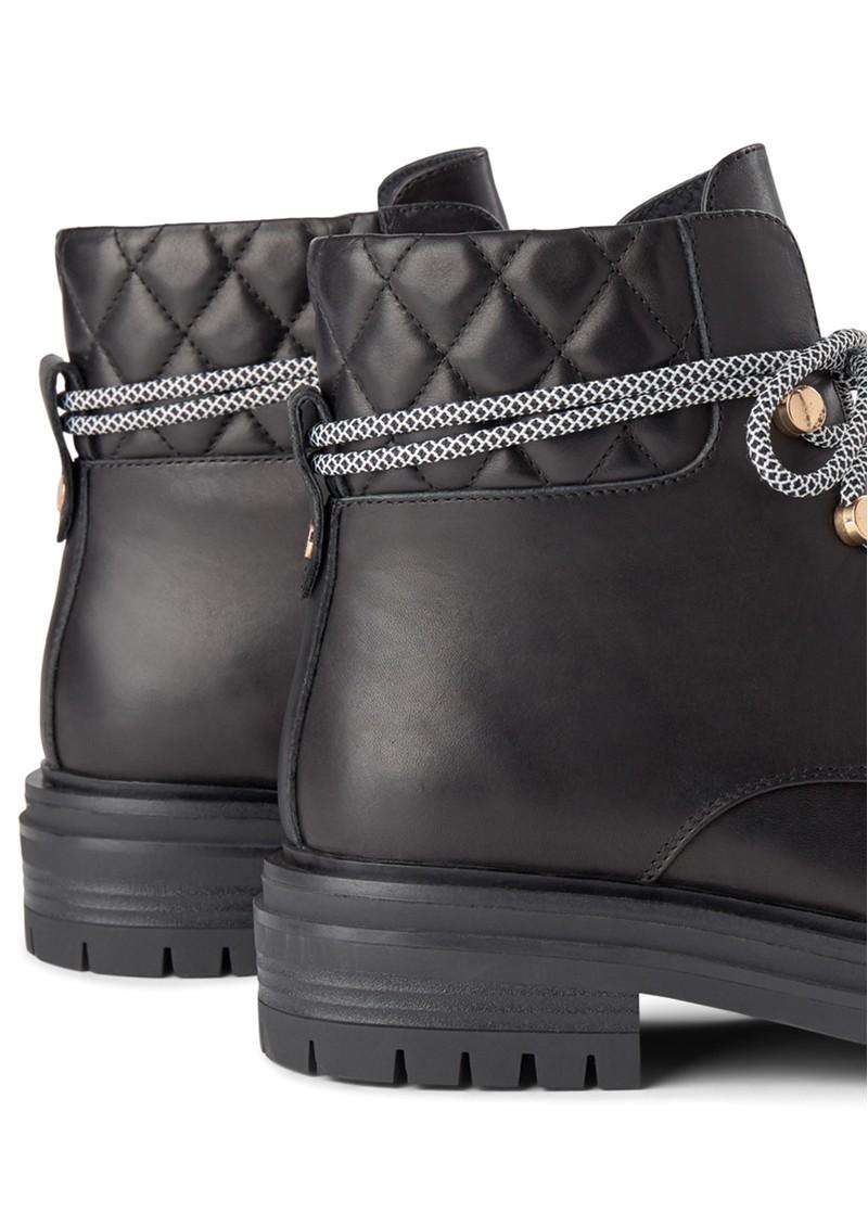 SHOE THE BEAR Franka Lace Leather Boots - Black main image