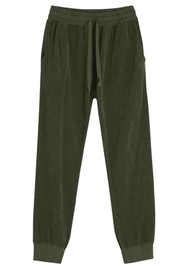 JUMPER 1234 Terry Cotton Joggers - Army