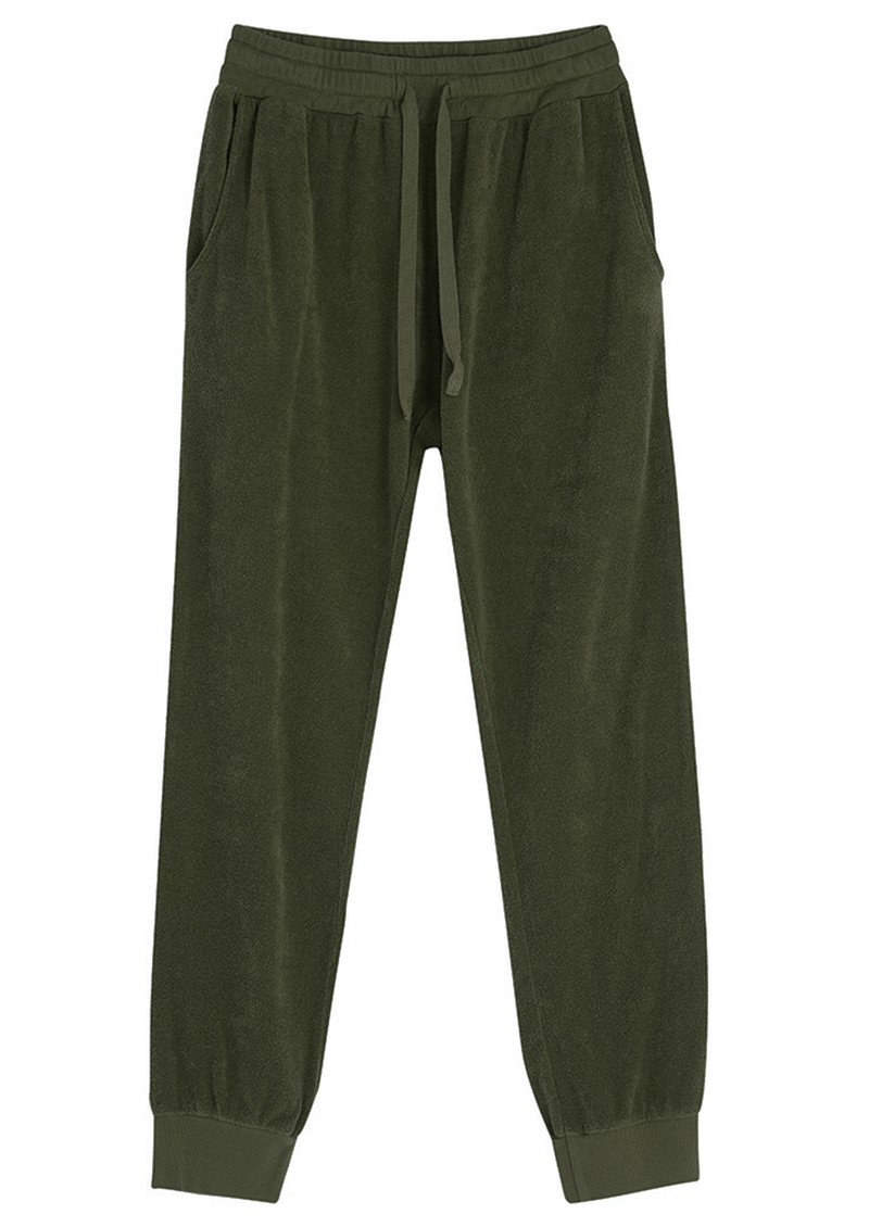 JUMPER 1234 Terry Cotton Joggers - Army main image
