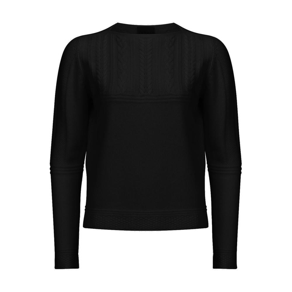 Guernsey Cashmere Jumper - Black