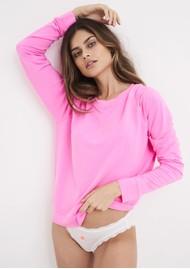 STRIPE & STARE Essential Sweatshirt - Hot Pink