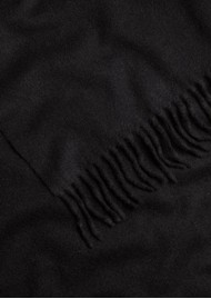 RAG & BONE Classic Wool Scarf - Black