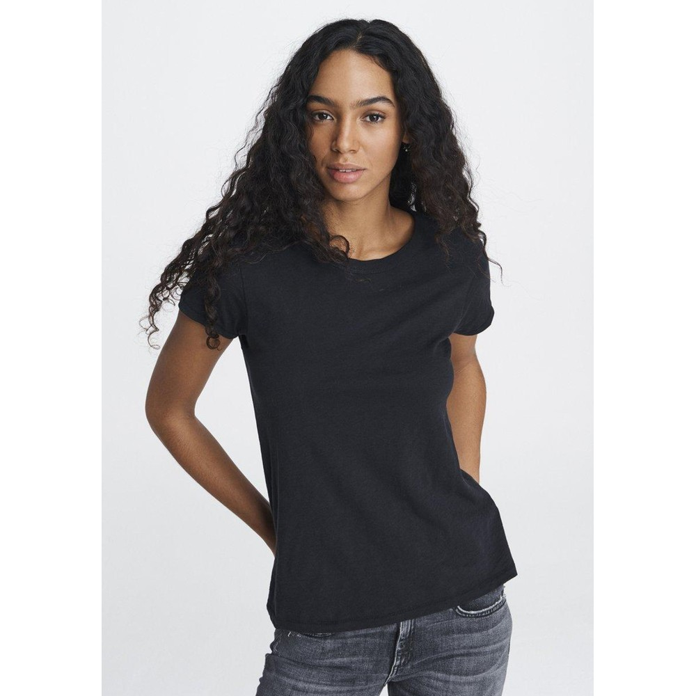 The Slub Tee - Black