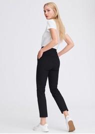 RAG & BONE Layla Ankle Stretch Pants - Black