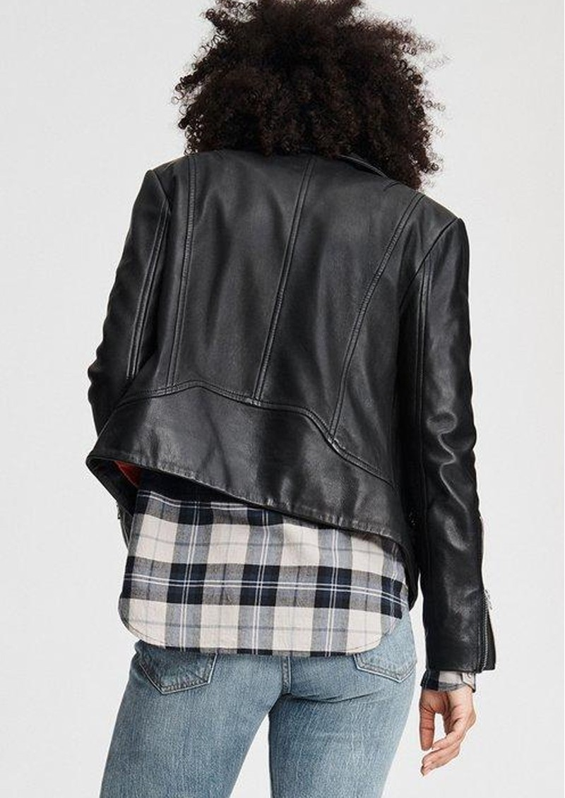 RAG & BONE Mack Leather Jacket - Black main image