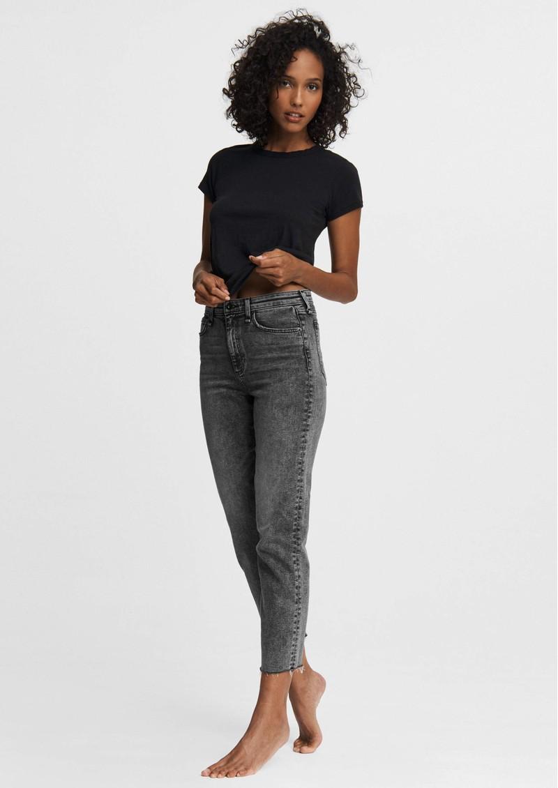 RAG & BONE Nina High Rise Cigarette Jeans - Black Sage main image