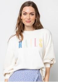 Rails Rails Signature Sweatshirt - Ivory
