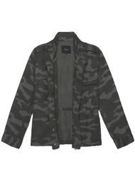 Rails Trey Jacket - Charcoal Camouflage