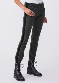 Paige Denim Mayslie Jogger - Faded Black Velvet