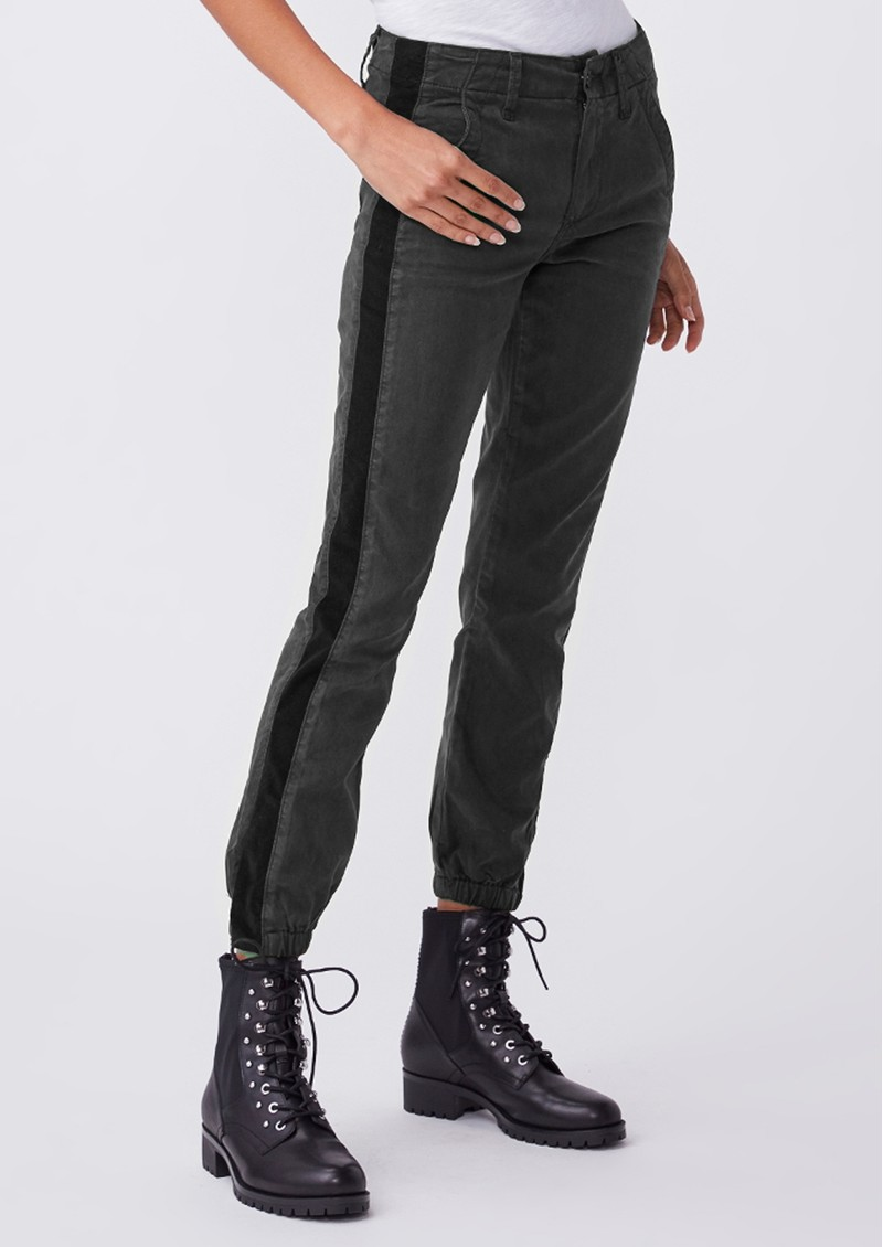Paige Denim Mayslie Jogger - Faded Black Velvet main image
