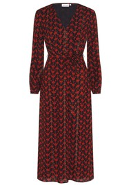 FABIENNE CHAPOT Isabelle Isa Dress - Black & Rust