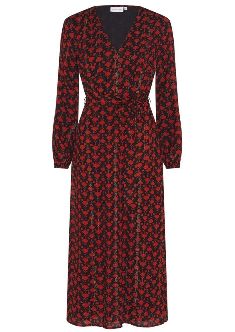 FABIENNE CHAPOT Isabelle Isa Dress - Black & Rust main image